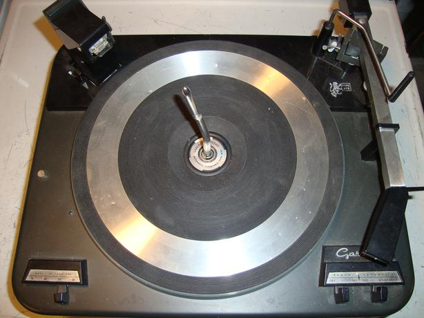 Garrard turntable record player