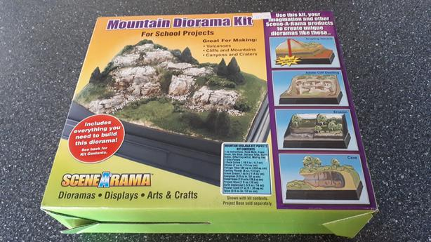 Mountain Diorama Kit Outside Nanaimo, North Nanaimo, Nanaimo