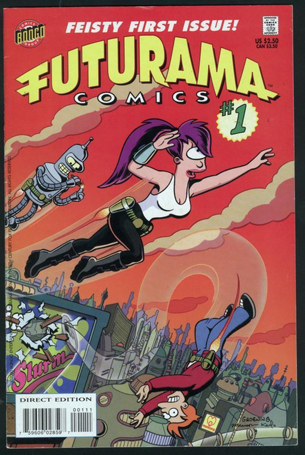 Futurama Comics #1