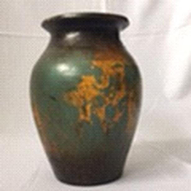 Pottery Painted Vase.