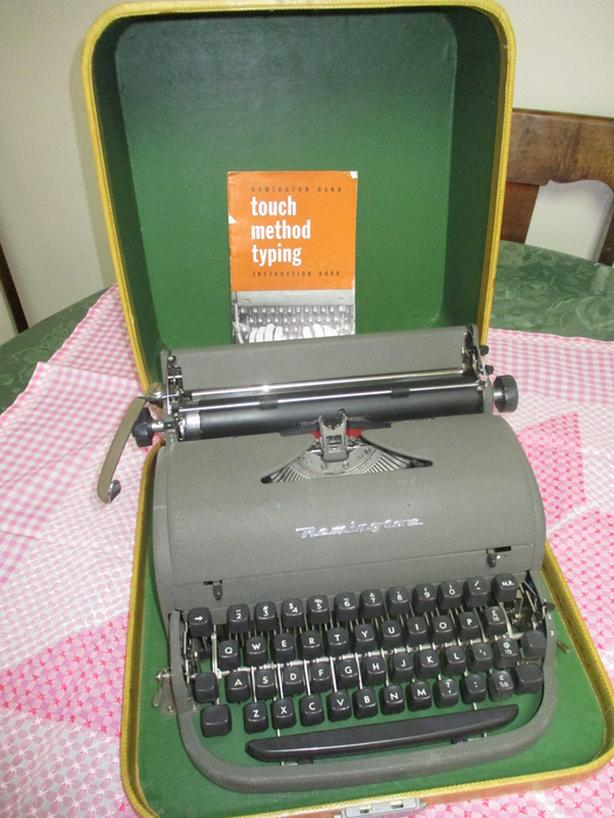 TWO UNIQUE TYPEWRITERS