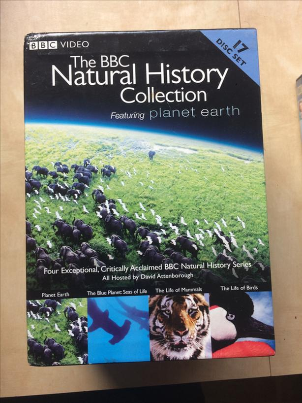 BBC Natural History Collection (Blue planet, Planet Earth etc.....)