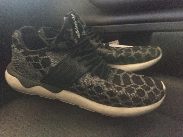 Men's Adidas tubular running shoes! Asking $40obo