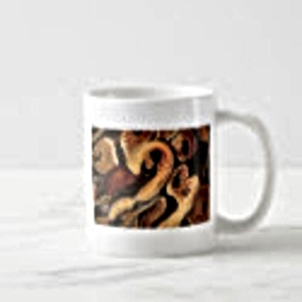 The Ball Python, coffee mug and more, Herp Lovers gifts!