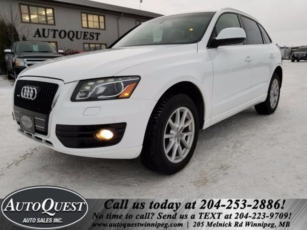 2010 Audi Q5 Premium - PANO SUNROOF, LEATHER, BLUETOOTH, 3.2L!