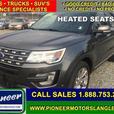 2017 Ford Explorer Limited  - Navigation -  Cooled Seats - $286.63 B/W
