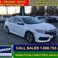 2018 Honda Civic Sedan LX CVT  - Bluetooth -  Premium Audio - $146.56 B/W