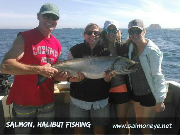 Book now for 2019 for Salmon and Halibut fishing