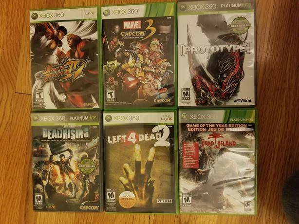  Log In needed $50 · xbox 360 game bundle (zombie Fight)