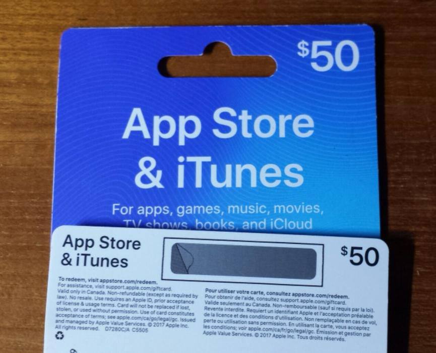 $160 · App Store & iTunes Cards $200 value for $160 and $50 value for $40  each