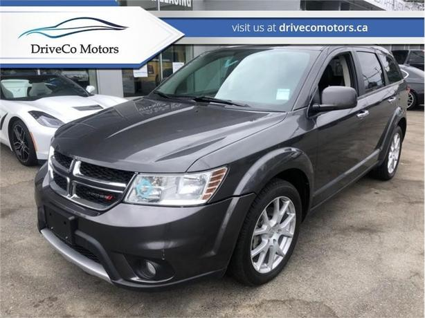 2015 Dodge Journey R/t  - Leather Seats -  Bluetooth - $129.57 B/W