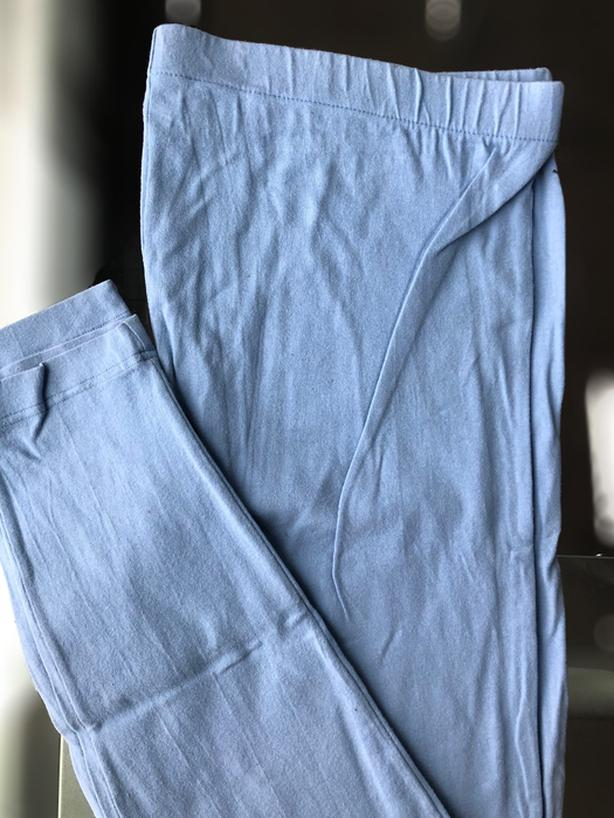 Baby Blue Maternity Legging, Size L