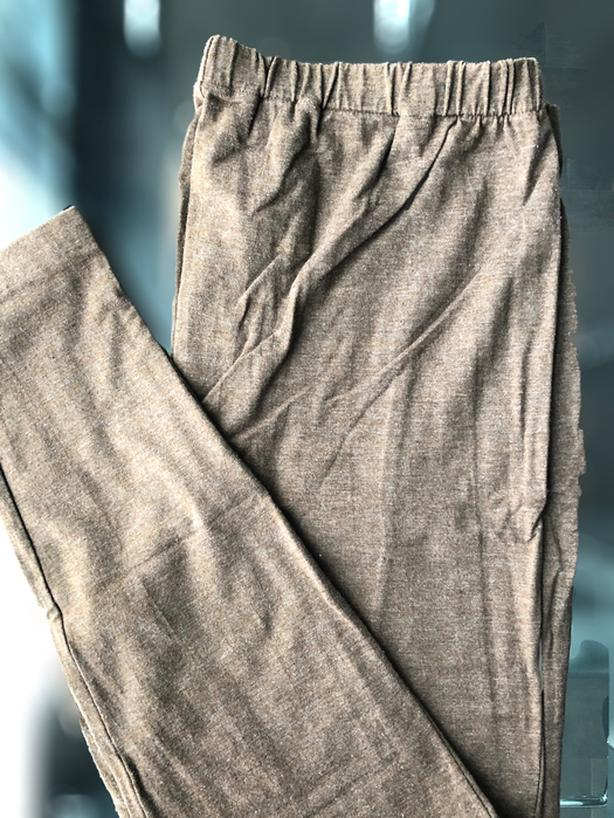Brown Maternity Legging, Size XL