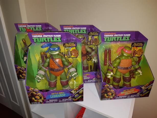 Teenage Mutant Ninja Turtles Battle Shell