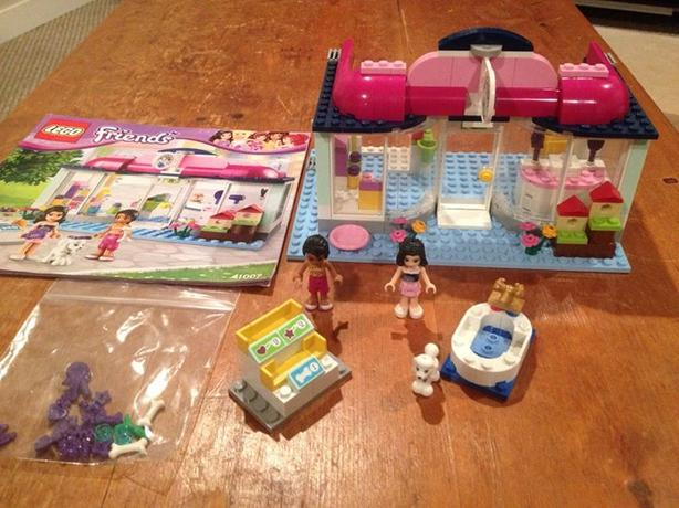 Lego Friends Pet Salon Complete With Instruction Book North Nanaimo