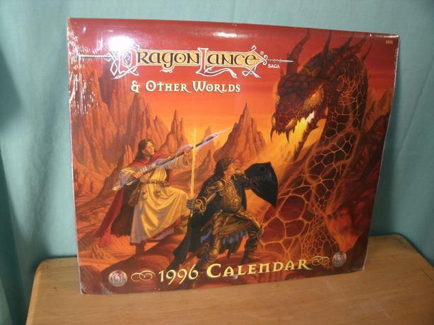 1996 Calendar Dragon Lance Saga Amp Other Worlds West Shore