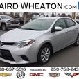 2014 Toyota Corolla LE No Accidents! Automatic, Fuel Efficient