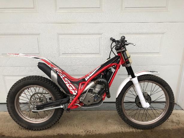 2013 GASGAS TXT 280cc trials motorcycle