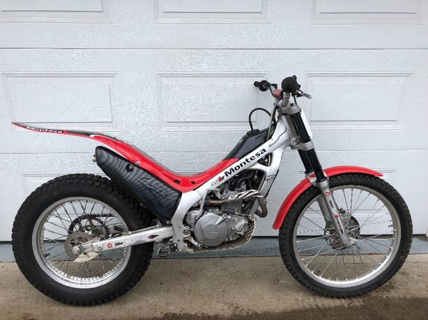 2006 Montesa 4RT trials motorcycle
