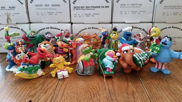 100 Sesame Street Christmas Ornaments