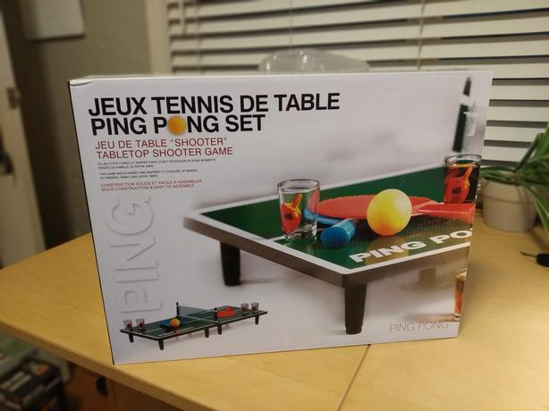 Ping Pong Table Tennis Drinking Game Victoria City Victoria