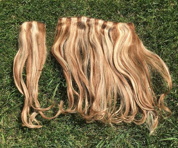 Real Locks''n'Mane Human Hair, Clip On