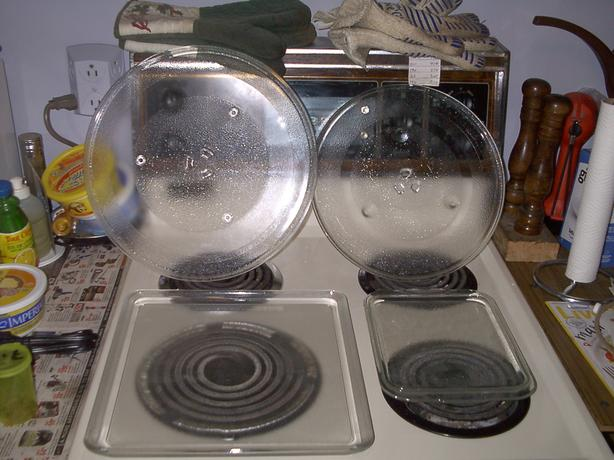 REPLACEMENT MICROWAVE TRAYS