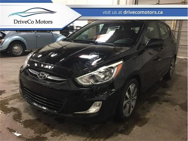 2017 Hyundai Accent SE Hatch  - Sunroof -  Bluetooth - $130.27 B/W