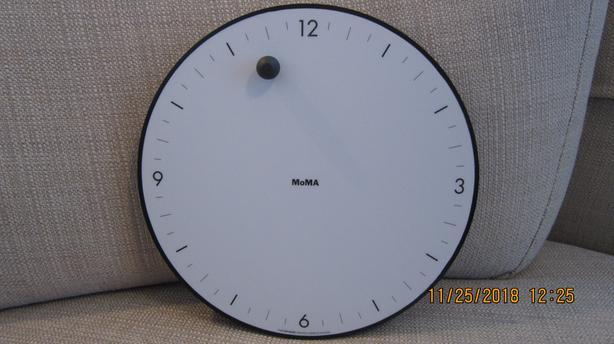 "Museum of Modern Art (MOMA) ""Timesphere"" Clock"