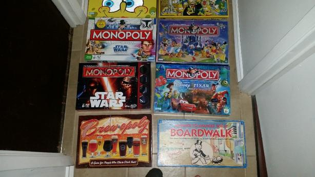 20 monopoly games