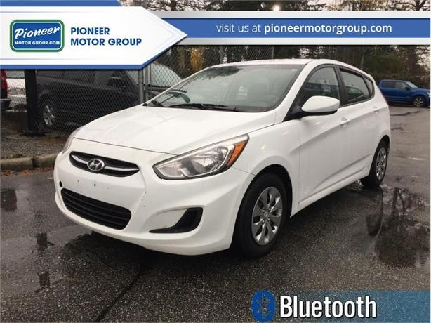 2017 Hyundai Accent GL Hatch  - Bluetooth -  Heated Seats