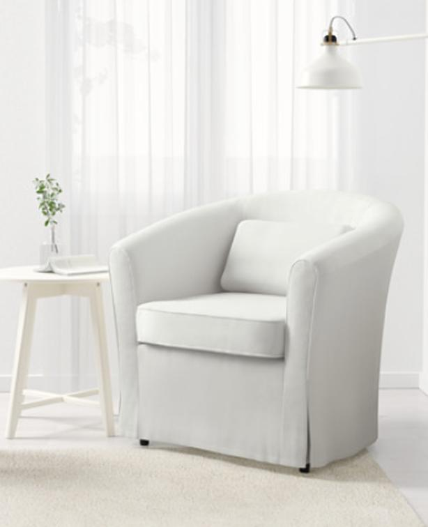 Groovy Log In Needed 155 Ikea White Slipcover Armchair Pabps2019 Chair Design Images Pabps2019Com