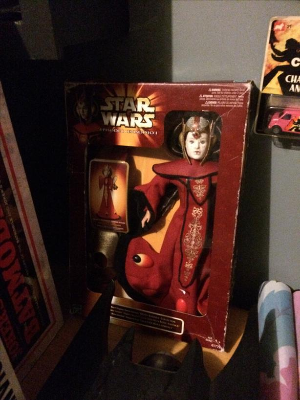 Padme Amidala Doll from Star Wars