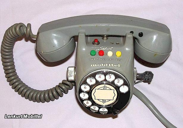 WANTED: VINTAGE 60-70S MOBILE CAR PHONE