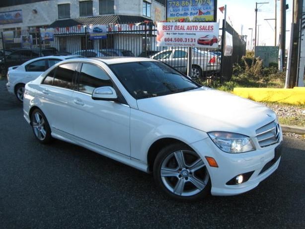 2008 Mercedes-Benz C300 auto 4matic,leather,sunroof,147000