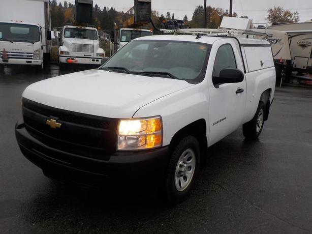 2011 Chevrolet Silverado 1500 Regular Cab Regular Box WT 2WD with Service Canopy
