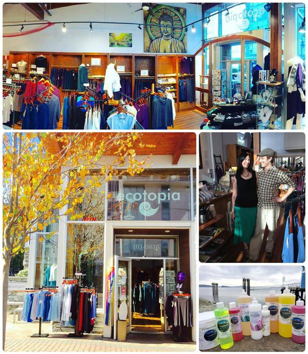 WELL-LOVED ECO-CLOTHING BOUTIQUE IN SIDNEY, BC
