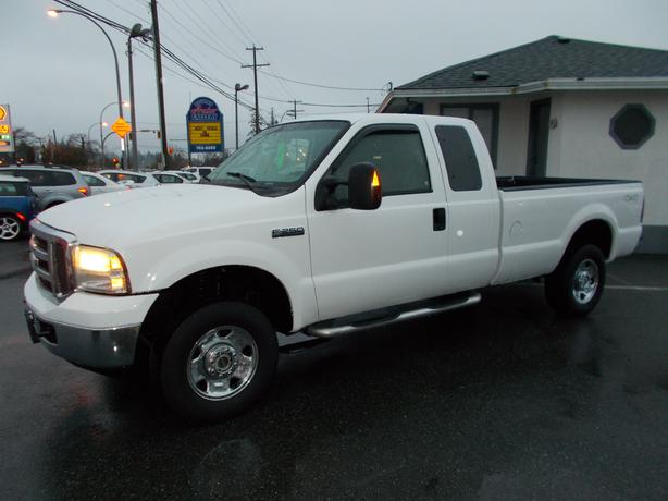 2006 ford f250 xlt 4x4 extracab