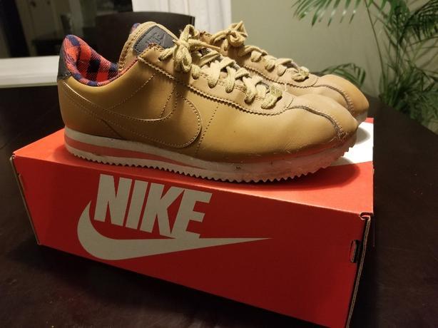 info for ce00f 1b968 Nike Cortez Premium Wheat size 8.5 Saanich, Victoria