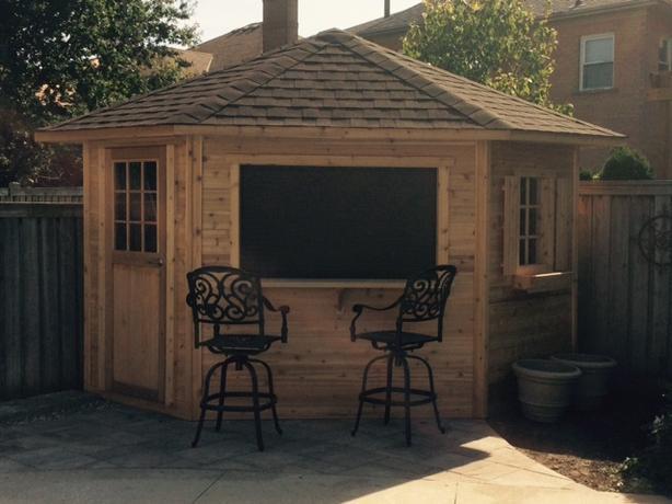 Roll up cabana doors (shutters)