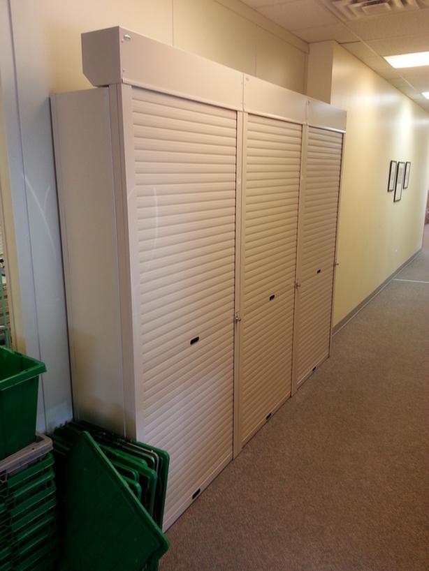 Roll up shelving doors (shutters)