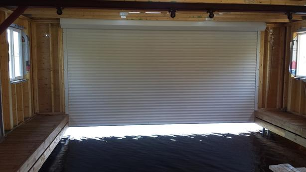 Roll up boathouse doors (shutters)