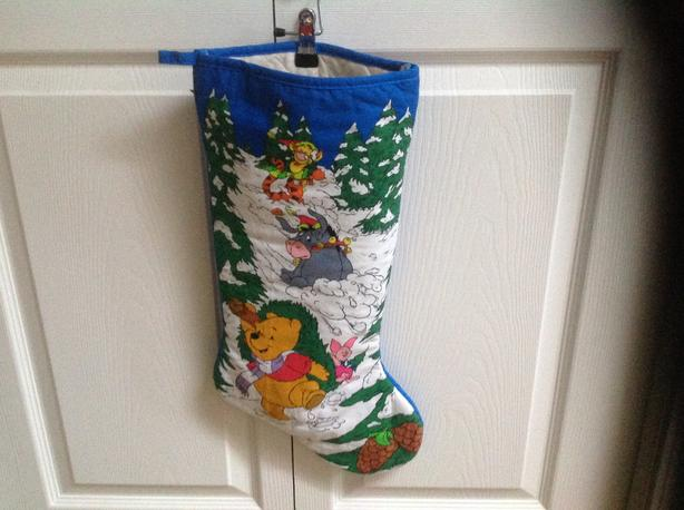 Tigger Christmas Stocking.Winnie The Pooh And Friends Christmas Stockings Parksville