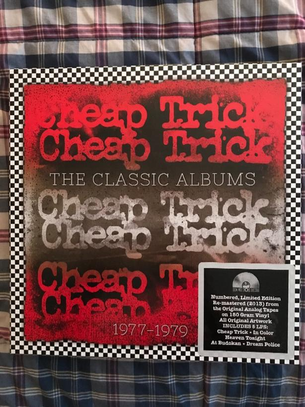  Log In needed $50 · Cheap Trick Classic Albums 1977-79 Vinyl Box Set RSD  2013 Numbered