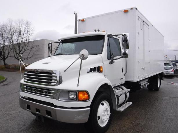 2008 Sterling Acterra Cube Van Mobile Shredding Diesel 22 foot box Air Brakes