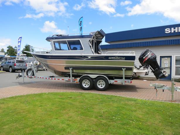 THUNDERJET 24' PILOT 2017 Aluminum Boat Sherwood Marine Centre