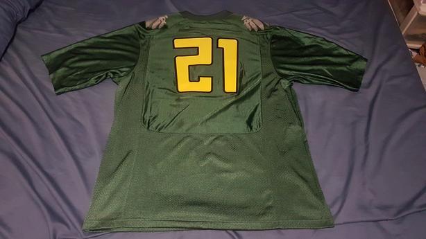 outlet store e4419 6a638 Nike Oregon Ducks Football Jersey Size XL Victoria City ...