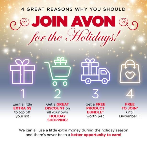 Join Avon for the Holidays!