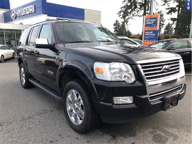 2008 Ford Explorer Limited V8, DVD, Leather, Heated Seats, Sunroof