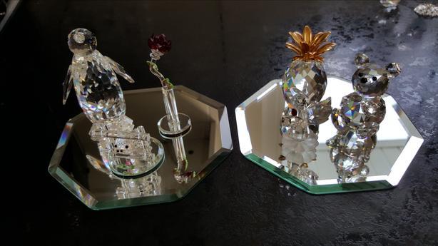 mirror display plates